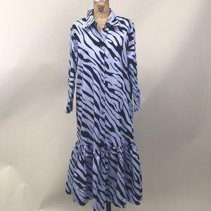 NEW Zara Zebra Dress
